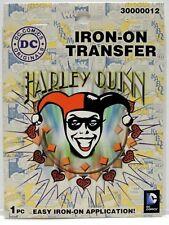 Harley Quinn DC Comics Iron On Transfer
