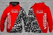 Honda MotorSport F0x-Racing 3D Printed Polyester Hoodie