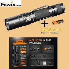 Fenix UC35 V2.0 LED Taschenlampe USB Kabel Akku Holster Gürtelclip Handschlaufe