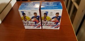 2020-2021 UEFA Champions League Topps Chrome Blaster Box *IN-HAND* 2 Available
