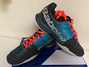 Babolat Men's Jet Mach II All Court Tennis Shoe Dark Blue/Black