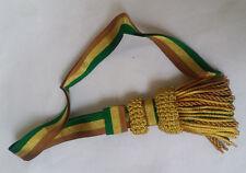 Royal Navy Officer Sword Knot Golden,Green,Brown/Army Sword Knot Golden Bullion