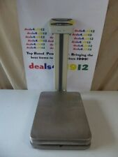 Cas Dl 300 Economical Bench Scale 300lbx01 Lb Ntep Legal For Trade Very Good 1
