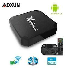 Aoxun X96mini 4K Quad Core 16Go Passerelle Multimédia