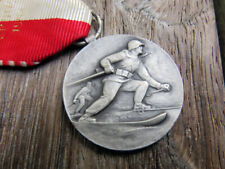 Swiss army ski patrol medal 1954 K31 Huguenin bayonet belt K11 Helmet ammo pouch