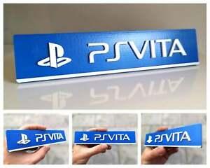 Sony Playstation PS Vita 3D logo / shelf display / fridge magnet - collectible