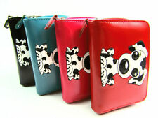 Faux Leather Bifold Wallets for Women