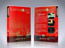 NEW custom game storage case EARTHBOUND ZERO MOTHER NES -No Game- Nintendo