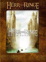 Der Herr Der Ringe Spielfilmtrilogie Trilogie Edition Limitée 6 DVD Box Set 1-3