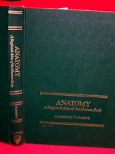 1975 ANATOMY , ATLAS OF THE HUMAN BODY- CLEMENTE /  ILLUSTRATED, COLOR, HC