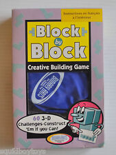 BLOCK by BLOCK Creative Building Game PUZZLE Binary Arts Complete