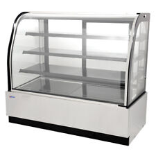 Omcan 59-inch Refrigerated Floor Showcase 44252 RS-CN-0600