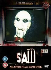 Saw - Series 1-7 Complete All 7 Discs Movies Collection Box Set Brand NEW UK DVD