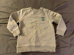 JUMPING BEANS Toddler Kid's Ash Gray Size 3T Captain Cute Sweatshirt NICE! FAST!