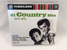 #1 COUNTRY HITS 2 CD Set Various Artists TIMELESS  20 #1 Hits! ~ New Sealed ~