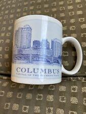 Starbucks 2008 Coffee Cup Mug Columbus Ohio Architecture Architect Series 18 oz