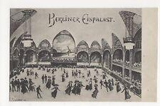 Germany, Berliner Eispalast Postcard, B023