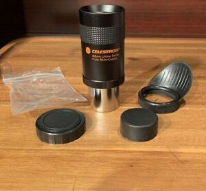 "Celestron telescope refractor cassegrain eyepiece 1.25"" 42mm Ultima 1988 Japan"