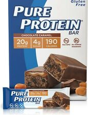 PURE PROTEIN BAR Chocolate Caramel 8 BOX SPECIAL