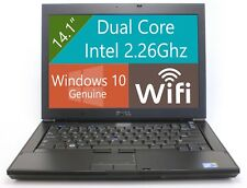 Dell E6400 Latitude Laptop Computer Dual Core 4GB 250GB WiFi DVDRW Windows 10