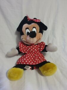 Vintage Minnie Mouse Disneyland Disney World Plush.