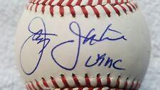 JAY JOHNSTONE USMC Signed Autographed Baseball LA DODGERS ANGELS MLB