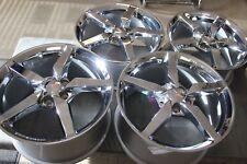 GM OEM 2014 2015 Chrome C7 Stingray Wheels For 2005-2013 C6 Corvette 18/19