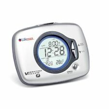 Lifemax Under Pillow Vibration Alarm Clock Temperature display snooze, In Stock