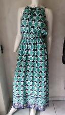 HALLHUBER Kleid langes Kleid multicolor mit Träger *Gr.34--UK6* ***NEU