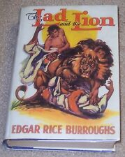 THE LAD & THE LION Edgar Rice Burroughs 1st Edition ERB, Inc. PARTIAL ORIG DJ