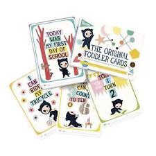 Milestone tout-petit cartes Pack de 30 cartes illustrées pour des moments spéciaux 1-4yrs