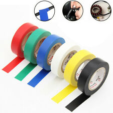 10Roll 15M 600V Waterproof Flame Retardant PVC Insulation Electrical Tape Tool