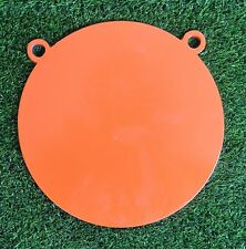 Hardox 500 125mm Gong Double Hole Rifle Shooting Targets AR500 Plate Shotgun