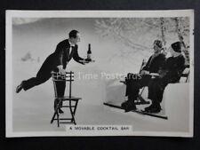 No.23 SKATING WAITER GRAND HOTEL ST.MORITZ  RP Winter Scenes - Pattreiouex 1937