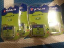 Verbatim 4 pk. 2GB CompactFlash I Card - 47012