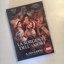 LA SORGENTE DELL'AMORE RARO DVD - MIHAILEANU IL CONCERTO CANNES