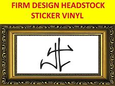 FIRM JAMES HETFIELD BLACK STICKER METALLICA VISIT OUR STORE WITH MORE MODELS