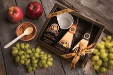 Lithuanian Hard Cheese Dziugas Set Box 36 Month Matured Gourmet Cheese Taste Pak