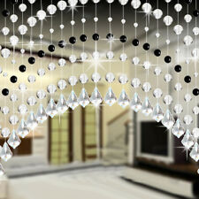 Crystal Glass Bead Curtain Luxury Living Room Bedroom Window Door Bathroom Decor