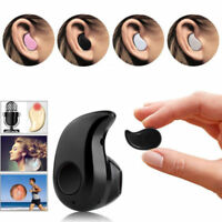 Mini Wireless Bluetooth 4.0 Stereo In-Ear Headset Earphone For Samsung iPhone LG