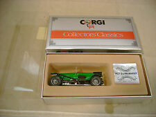 1985 MADE IN GREAT BRITAIN CORGI C861 GREEN 1927 3-LITRE BENTLEY MIB