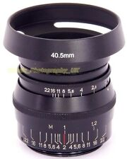 ZEISS Sonnar 1:1 .5 F = 5 CM & NIKKOR 1:1 .5 F = 5 cm Fit 40.5 MM VENTILATO Lens Hood E40.5