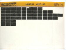 Honda NH80 AERO 80 1985 Parts List Catalog Microfiche a500