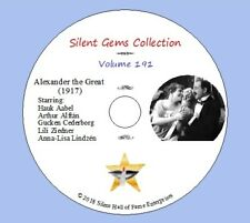 "DVD ""Alexander The Great "" (1917) Director Mauritz Stiller,Clásico Silent Comedy"