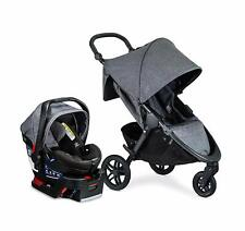 Britax B-Free Stroller & B-Safe Ultra Car Seat Travel System in Vibe New!!