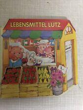 Mini Pappbuch Tormont Lebensmittel Lutz kInder Buch Rarität Vorlesen Lernen Gut