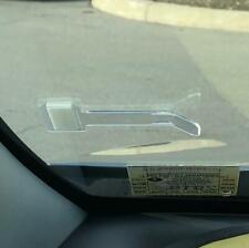 Universal Car Parking Ticket Permit Holder Windscreen Self-Adhesive Clip