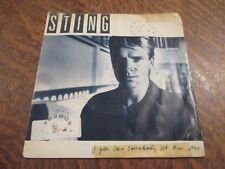 45 tours STING if you love somebody set them free