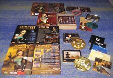 PC allemand Tomb Raider 1+2+3+4 collection de Lot tout big boxe