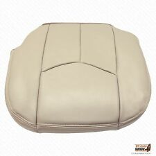 2005 2006 GMC Yukon Denali Driver Bottom Replacement Synt Leather Seat Cover Tan